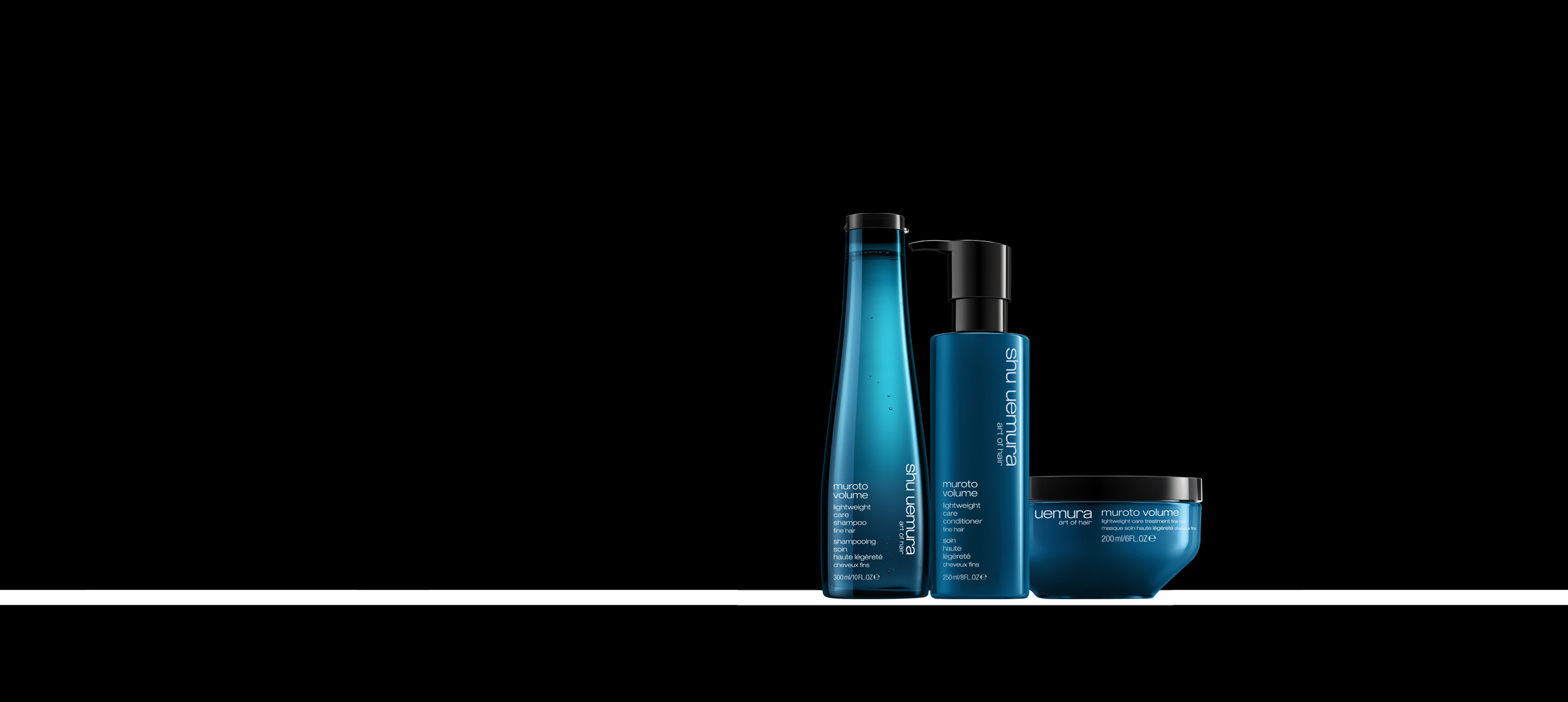 Paul Edmonds Give your hair the Mineral Depsea Water special ingredient