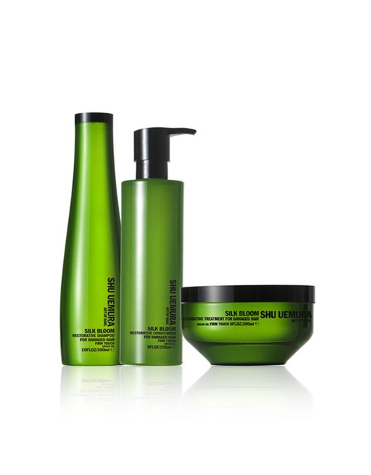 Shu Uemura Silk Bloom All in One (Shampoo, Conditioner and Treatment)