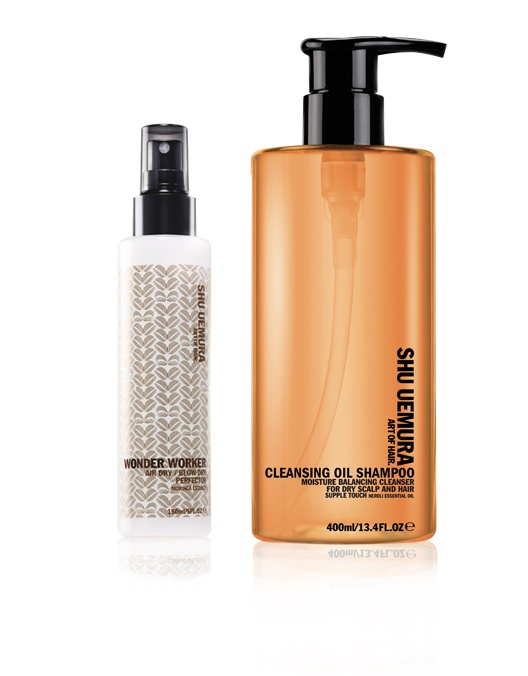 Shu Uemura - Wonder Worker and Cleansing Oil Shampoo