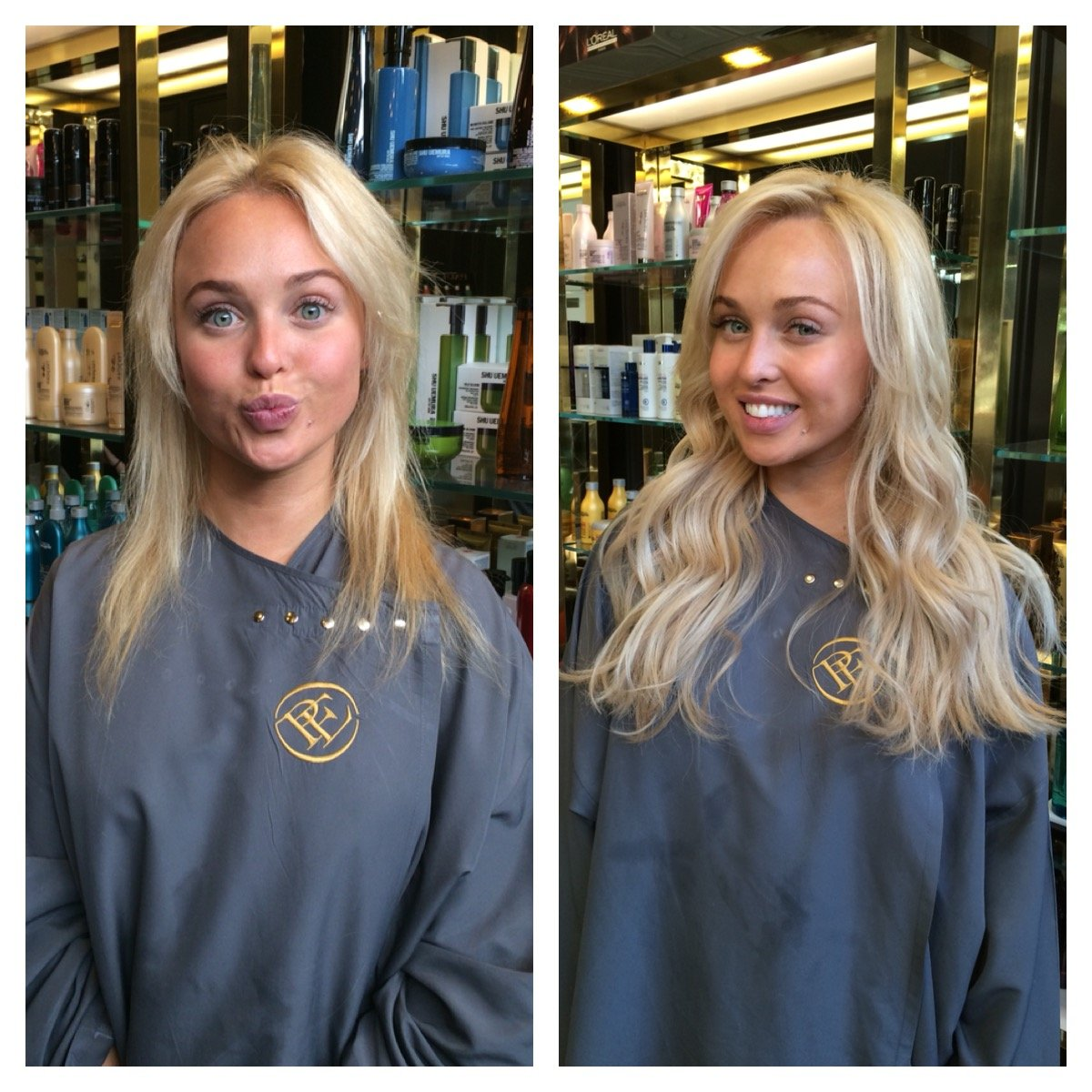 Super Natural Looking Hair Extensions For Georgie Porter