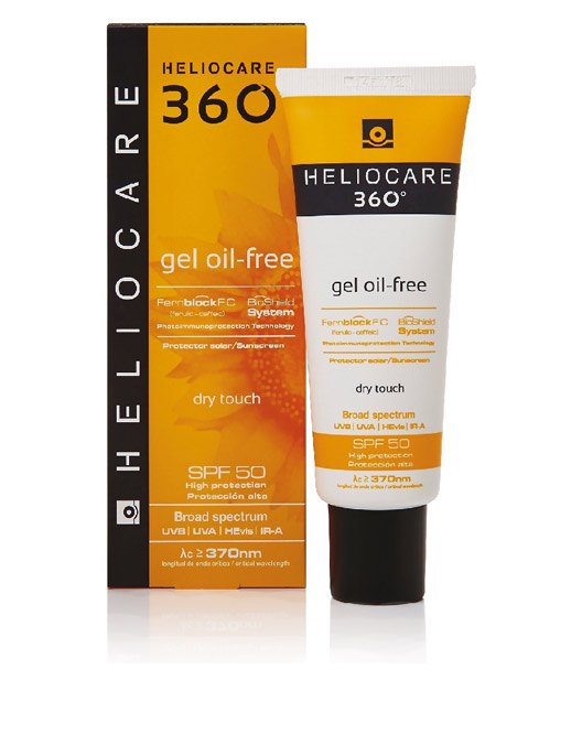 Heliocare 360 Oil Free Gel SPF+