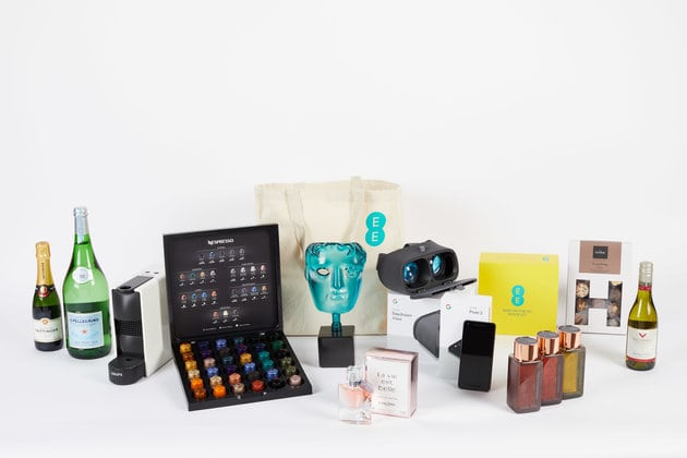 EE goody bag