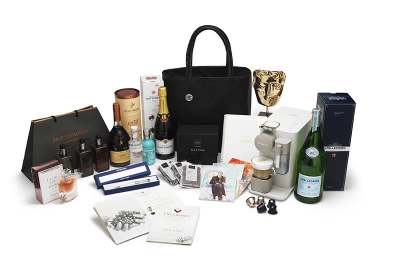 BAFTA gift bag
