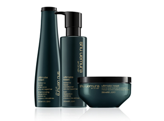 Shu Uemura Coarse & Unruly Haircare Products | Paul Edmonds