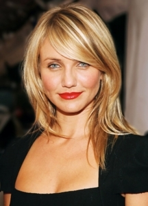 Cameron-Diaz-Straight-Medium-Length-Hair-style1