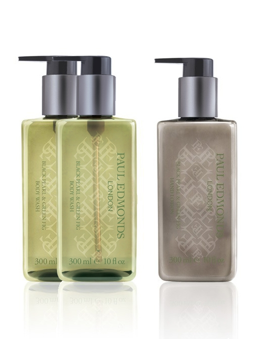 Paul Edmonds Black Pearl & Green Fig Body Wash | Buy Two Get a Hand Lotion Free