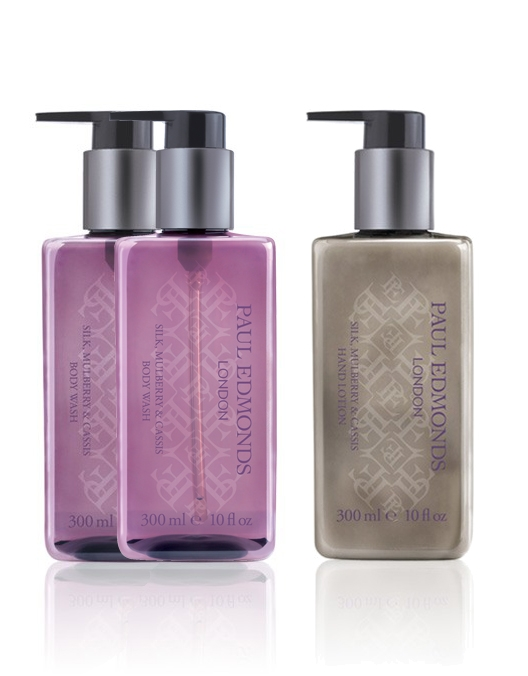 Paul Edmonds Silk, Mulberry & Cassis Body Wash Collection | Buy Two Get a Hand Lotion Free