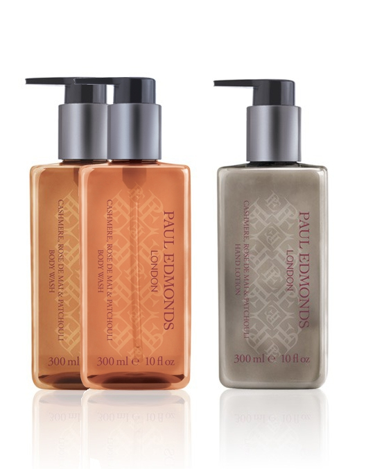 Paul Edmonds Cashmere, Rose de Mai & Patchouli Body Wash | Buy Two Get a Hand Lotion Free