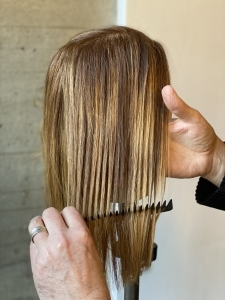 Oxidation can make balayage, highlights and pre-lightened hair have brassy and yellow tones